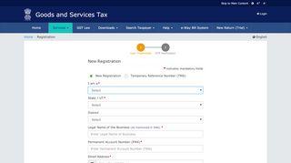 Gstn Registration Portal