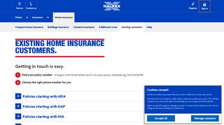 Halifax Home Insurance Login
