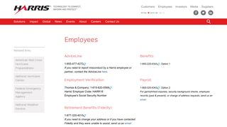 Harris Benefits Portal