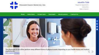Hilliard Family Medicine Portal