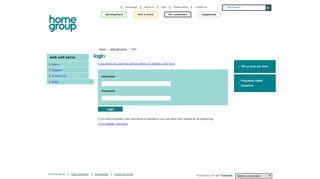 Homegroup Org Uk Staff Portal