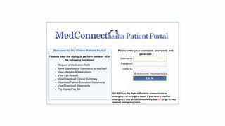 Https Patlogin Medconnect Inc Com Patportal Login Aspx