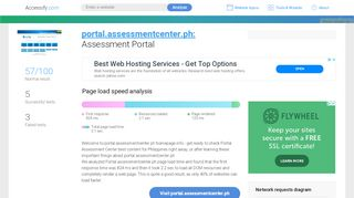 Https Portal Assessmentcenter Ph