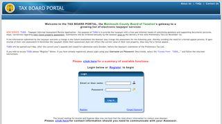 Https Taxboardportal Co Monmouth Nj Us Taxboardportal Home Login