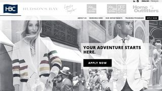 Hudson's Bay Career Portal