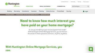 Huntington Online Lending Portal