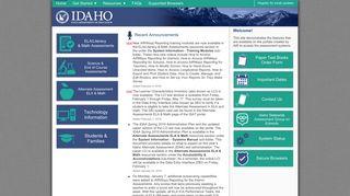 Idaho Portal Airast Org