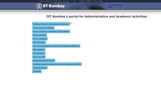 Iit Bombay Admission Portal