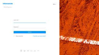 Infomaniak Webmail 1 Login