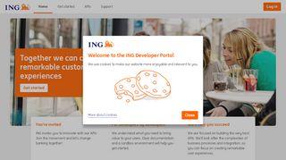 Ing Developer Portal