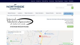 Internal Medicine Of Johns Creek Patient Portal