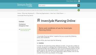 Inverclyde Planning Portal