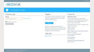Iqvia Customer Portal