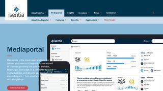 Isentia Media Portal