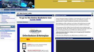 Jarvis Christian College Portal