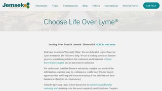 Jemsek Specialty Clinic Portal
