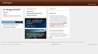 Jpmorgan Receivables Edge Login Page