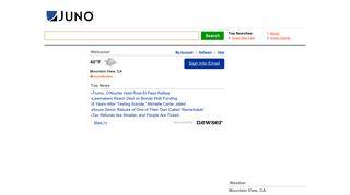 Juno Mobile Webmail Login