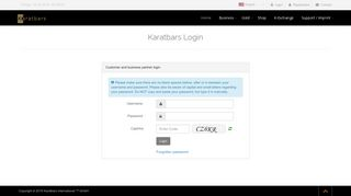 Karatbars Com Login