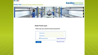 Kardex Dealer Portal