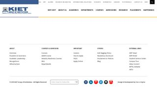 Kiet Student Portal