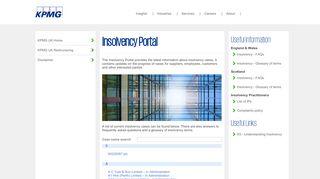 Kpmg Insolvency Portal