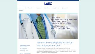 Lafayette Arthritis And Endocrine Clinic Patient Portal