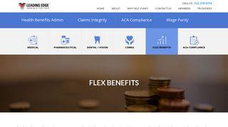 Leading Edge Benefits Card Login