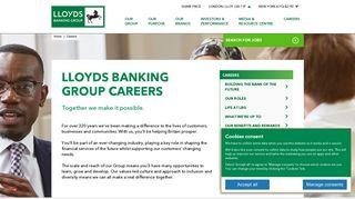 Lloyds Careers Login