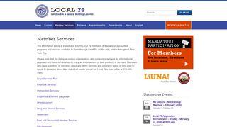 Local 79 Members Portal
