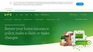 Lv Home Insurance Login
