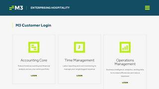 M3as Client Portal