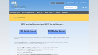 Marin Community Clinic Patient Portal