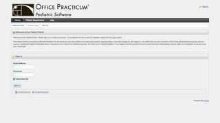Maruthi Pediatrics Portal