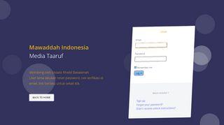 Mawaddah Indonesia Login