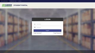 Mccann Student Portal App