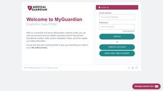 Medicalguardian Com Client Services Portal