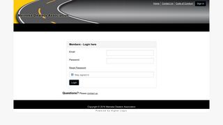 Meineke Dealer Access Portal