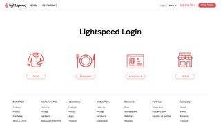 Merchantos Login Page
