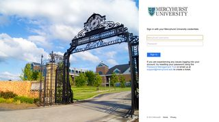 Mercyhurst Student Portal