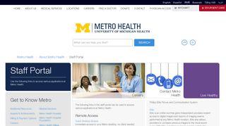 Metro Staff Portal