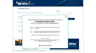 Mifel Net Portal