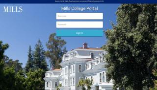 Mills Student Portal