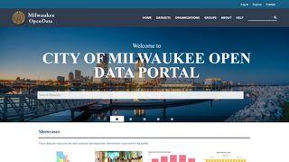 Milwaukee Open Data Portal