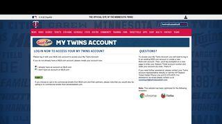 Minnesota Twins Login