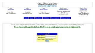 Morris And Dickson Employee Web Portal
