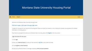 Msu Housing Portal