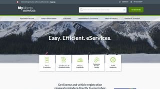 My Alberta Services Login