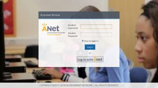 My Anet Online Student Login