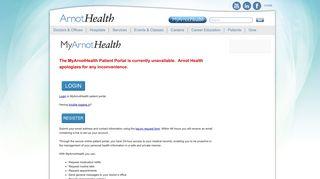 My Arnot Health Login